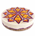 6. Lemon goji blueberry raw vegan cheesecake.