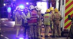 bin lorry crash Glasgow