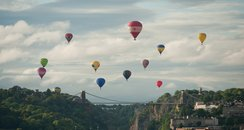 Bristol Balloon Fiesta - Suspension Bridge