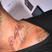 David Beckham just can't stop getting inked! Check out his new 'Pretty Lady' collar bone tattoo.
