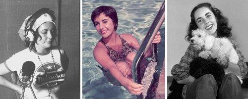 Elizabeth Taylor canvas