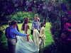 Jacqui Ainsley on her wedding day instagram