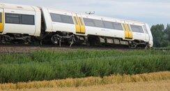 southern train cow derailment