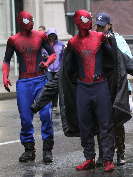 Stunt Doubles The Amazing Spider-Man 2 with Andrew