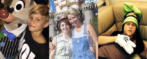 Celebrities At Disneyland canvas