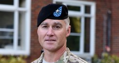 1st US General to serve in British army