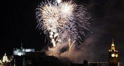 Fireworks Hogmanay
