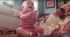 Storyful: Laughing baby