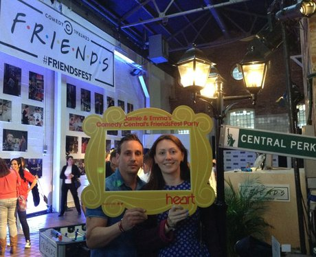 Comedy Central's FriendsFest Fan Frame!