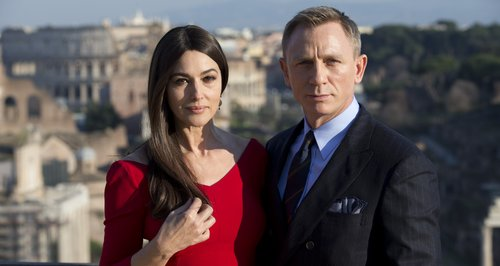 Monica Bellucci and Daniel Craig
