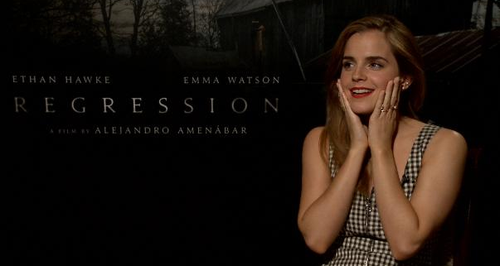 Emma Watson Regression interview