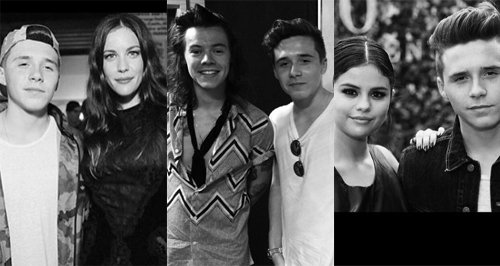 Brooklyn Beckham friends