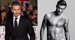 David Beckham crafts football