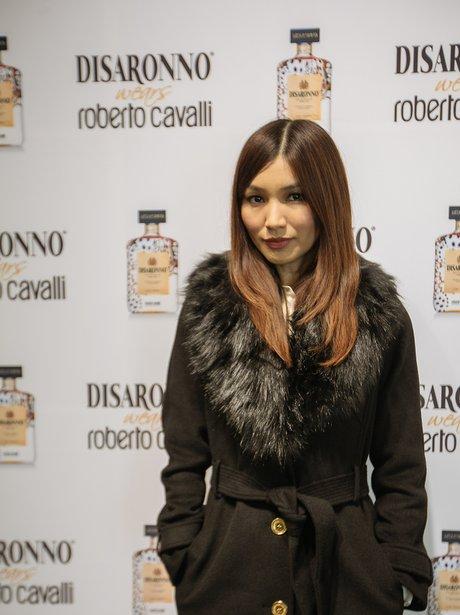 Gemma Chan Disaronno Wears Roberto Cavalli
