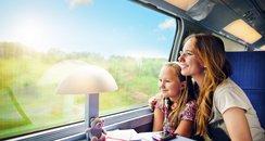 railway, family