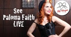 See Paloma Faith LIVE - Help Refugees