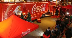 Coca-Cola Christmas Truck in London