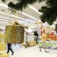 supermarket, christmas