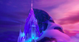 Frozen Elsa Ice Castle