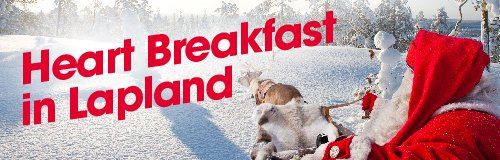 Heart Breakfast In Lapland