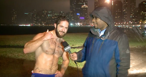 Ethan Renoe topless man call me