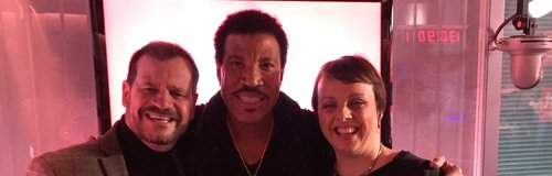 Martin, Su and Lionel Richie
