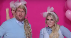 James Corden and Meghan Trainor 'All About That Ch
