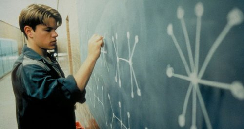 Maths Good Will Hunting Matt Damon