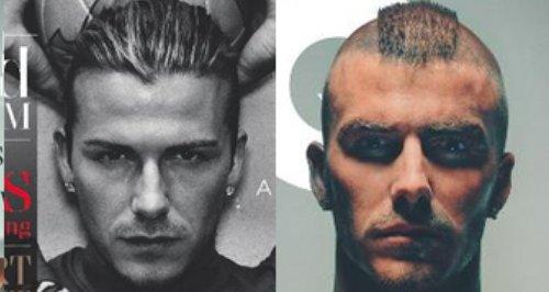 Beckham canvas GQ