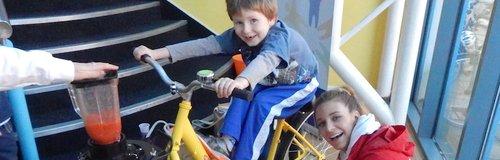 Heart Angels: Smoothie Bike at Riverside Exeter