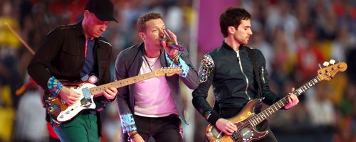 Coldplay Super Bowl 2016