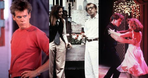 Footloose Annie Hall and Dirty Dancing