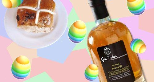 Hot Cross Bun Flavour Gin Easter