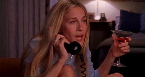 sex in the city - drunken phone dialling
