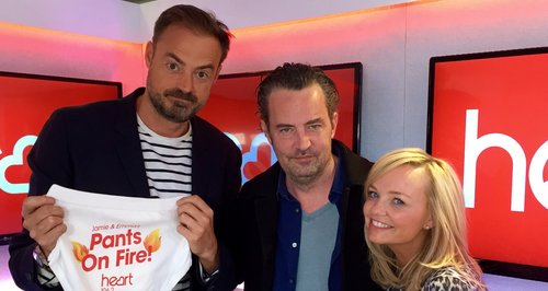 Matthew Perry With Jamie And Emma