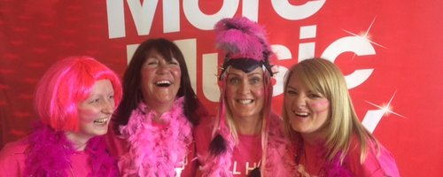 Adele's army for Race for Life