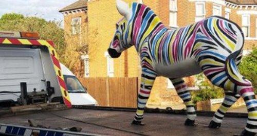 Gilbert Marwell Zany Zebra