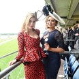 Ashley James and Jessica Wright at Ascot