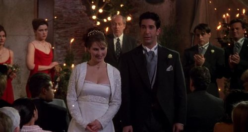 'Friends' Ross and Emily wedding