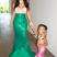 19. Kim Kardashian dresses as a mermaid for North's birthday