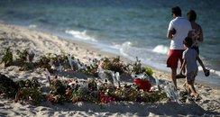 The beach where 30 Briton lost their lives on 26/0