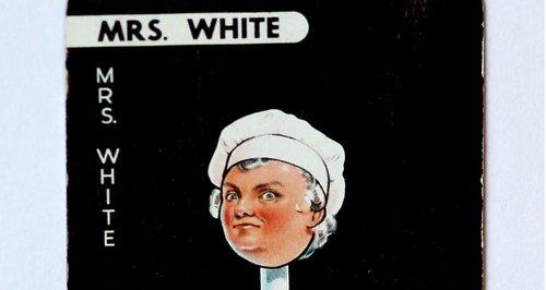 Mrs White Cluedo