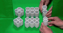 Optical Illusion Cylinder Canvas