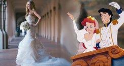 mermaid wedding dresses canvas