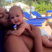 Image 10: John Legend and baby Luna enjoy cuddles