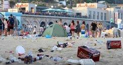 bournemouth beach litter