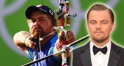Leonardo DiCaprio Olympics Canvas