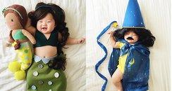 adorable fancy dress baby