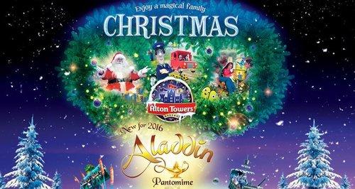 Alton Towers Christmas 2016