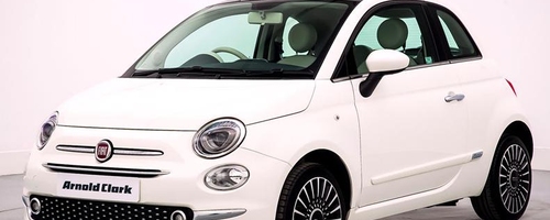 Arnold Clark Fiat 500 Road Trip Prize